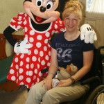 Sherri with Minnie