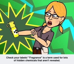 Check Your Labels for Fragrance www.SherriConnell