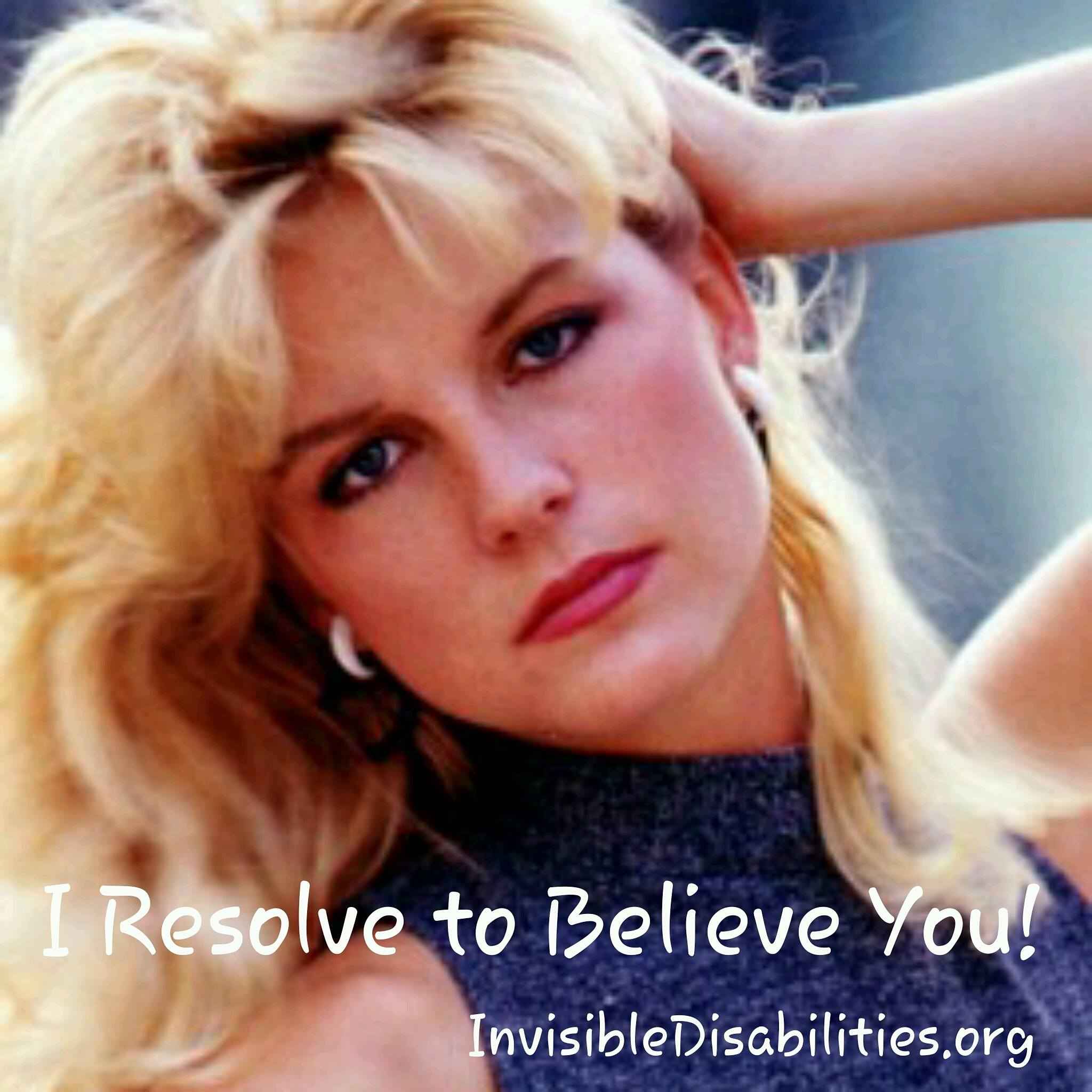 I Resolve to Believe You