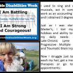 Spreading Awareness During Invisible Disabilities Week