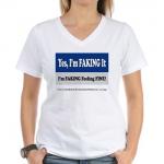 New Shirt Design: Yes, I'm Faking It!
