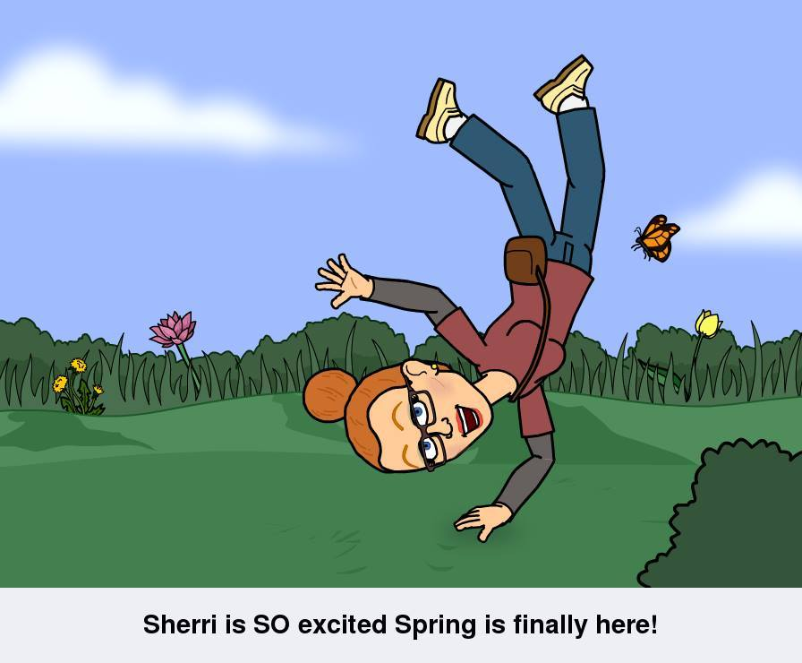 I'm So Excited Spring is Here www.SherriConnell