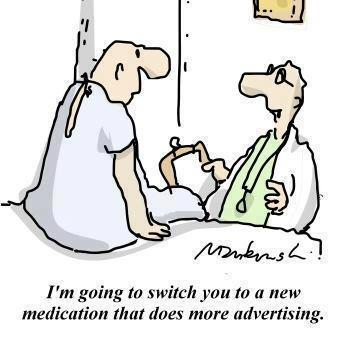 Medication that Advertises