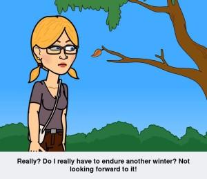 Sherri Dreads Winter www.SherriConnell
