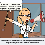 Sherri brings awareness to fragranced products - SherriConnell.com