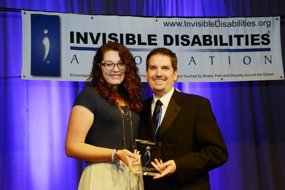 Mandy Harvey Received the 2015 IDA Inspiration Award