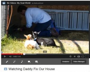 Watching Daddy Work