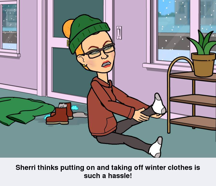Annoying Winter Clothes www.SherriConnell