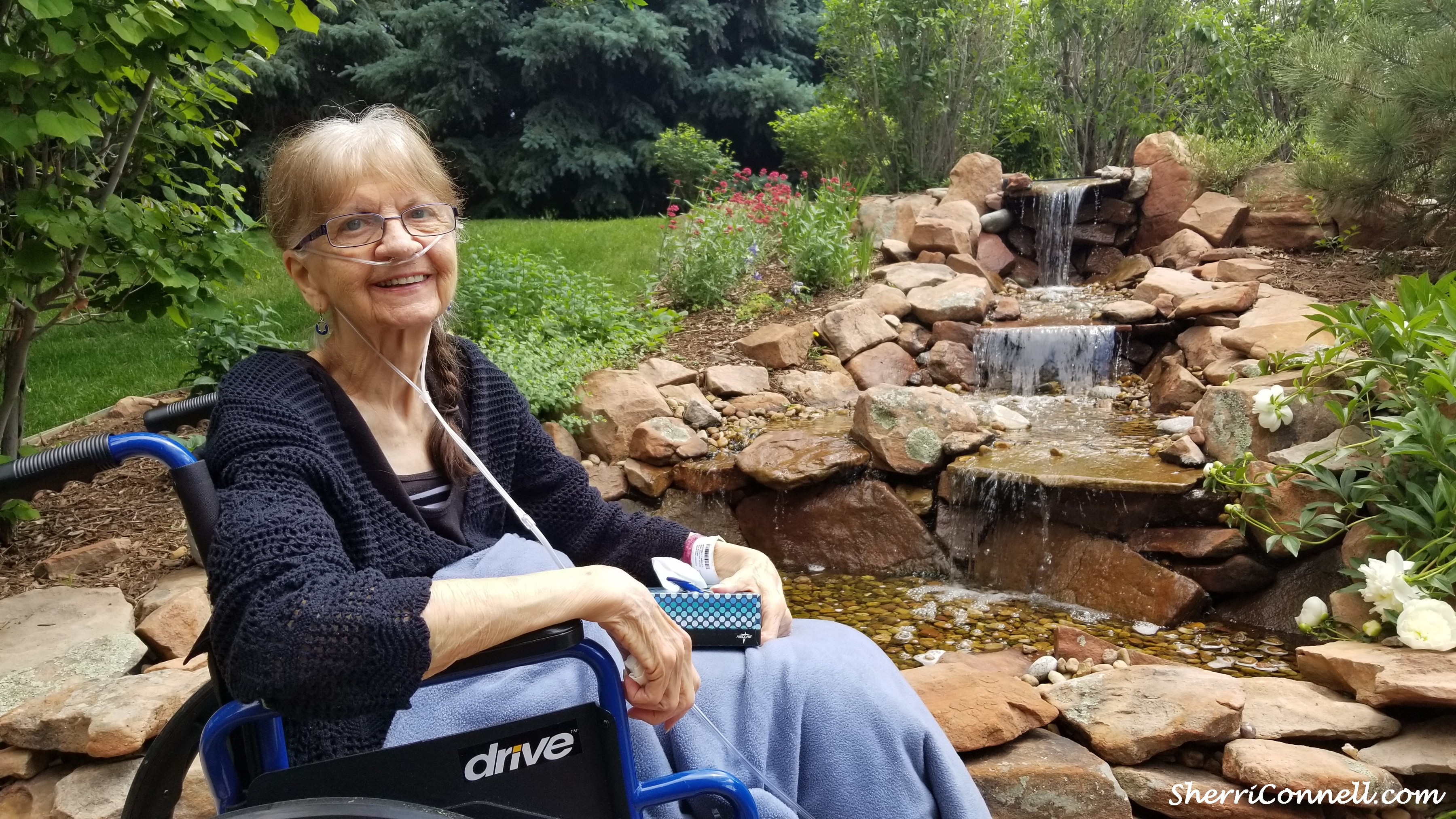 Carole at Porter Hospice Residences at the Johnson Center
