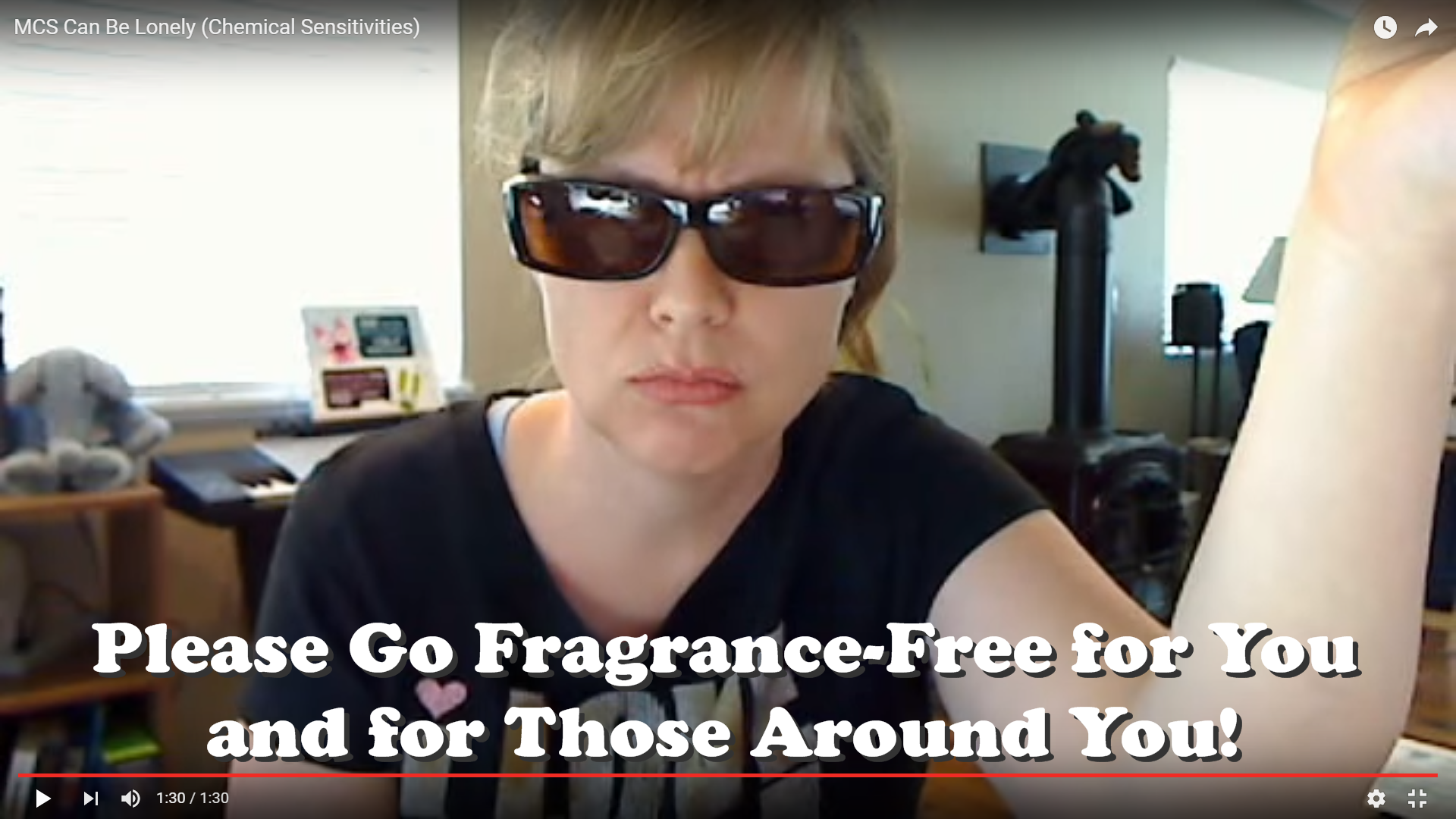 Go Fragrance Free Please For You