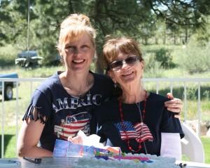 Mom and Sherri on Her Birthday