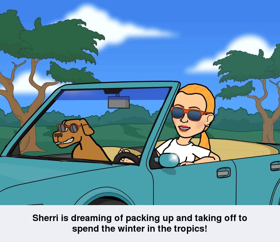 Off to the Tropics www.SherriConnell