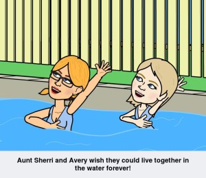Sherri and Avery Live in the Water www.SherriConnell