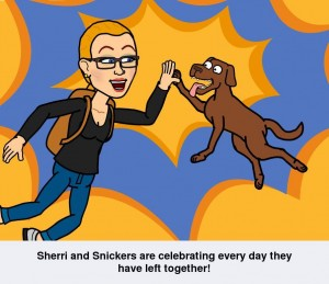 Snickers and Sherri